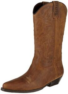 Dockers by Gerli Herren Western Boots 43BL001 Cowboy Stiefel Braun