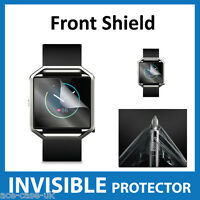 FitBit Blaze INVISIBLE FRONT Screen Protector Shield - Military Grade