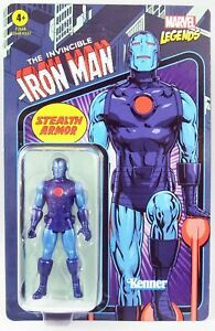 Marvel Legends Retro Collection - Kenner - Stealth Iron Man