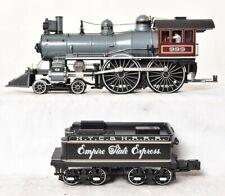 """Mth 4-4-0 Empire State Express Steam Engine w/Proto-Sound 3.0 86"""" Hi-Rail Wheels"""