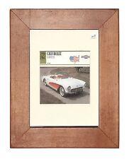 Collectors Classic Car - Chevrolet Corvette  - 1956 - 1961  -  Mounted Display