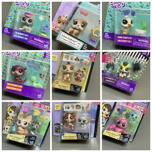 Up 10+ Littlest Pet Shop Series 1 2 Dog Rabbit Sheep Monkey Animals Kids Toy New