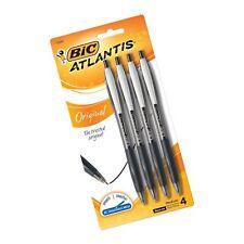 Bic Atlantis Original Retractable Ballpoint Pen, Medium Point (1.0mm), Black,.