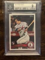 2011 Topps Update Mike Trout Rookie BGS 9