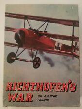 Richthofen's War Avalon Hill Bookcase Game The Air War 1916-1918