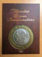 Mexico $20 Pesos Coin Conmemorative Collector Álbum Folder