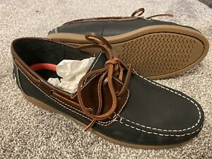 New Unworn Next Boating Loafers Shoes Modern Summer Shoe Men's Size 8