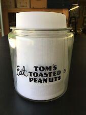 Tom's Peanut/cracker Jar Decal