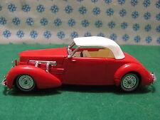 Vintage - CORD model  812 Supercharged Conv. 1937    - Matchbox N° Y-18