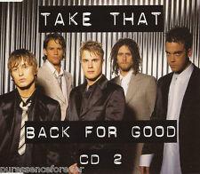 TAKE THAT - Back For Good (UK 4 Track CD Single Pt 2)