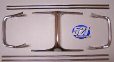 Mopar 69 1969 Dodge Charger Grill Grille Molding Moulding Trim Set Aluminum NEW