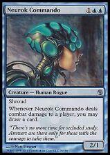 Neurok Commando X4 EX/NM Mirrodin Besieged MTG Magic Cards Blue Uncommon