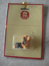 Vintage Dollhouse Accessory - Town Square Miniatures Bassett Hound Dog NIP