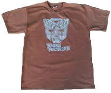 Bravado Official merchandise Transformers Autobot vintage Print t-shirt L marrón