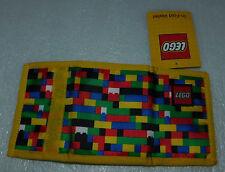 Lego Classic Brick Print Tri-Fold Wallet Hook Loop Closure Pocket ID Card Photo