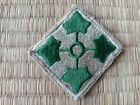 Vietnam War US Army 4th Infantry Division Cut Edge Patch