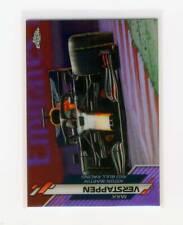 New listing 2020 Topps Chrome Formula 1 Purple Refractor Max Verstappen #/399 SP #26