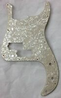 For US Fender Standard Precision Bass Guitar Pickguard , 4Ply Parchment Pearl