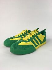 Adidas Classic limited edition GREEN / YELLOW Gum Suede Soccer Shoes Size US9 TA