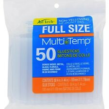 Ad-Tech Multi Temp Hot Glue Sticks 7/16-Inch x 4-Inch 50-Pack Crafting Hobbies