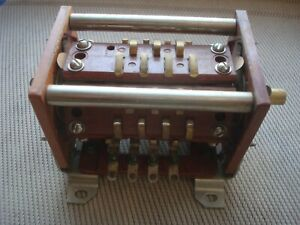 Powerful RF ROTARY Switch for QRO Amplifier, Tuner, Military, NEW