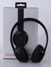 Beats by Dre Solo 3 Black Wireless Bluetooth On-Ear Headphones Noise Isolation