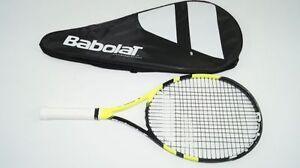 BABOLAT AERO JUNIOR 26 Tennisschläger L0 racquet Midplus strung Jr. racket 250g