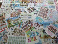 10 Different Colorful Topical Souvenir Sheets