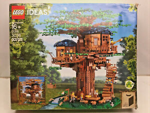 LEGO Ideas 21318 Tree House Building Kit 3036 Pcs (LOT#1)