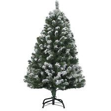 Weihnachtsbaum 150cm mit Schnee Effekt  LED Christbaum Kunstbaum Weihnachten