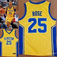 NWOT Men's Derrick Rose Simeon Academy Basketball Jersey(S,M,L,XL,2XL)