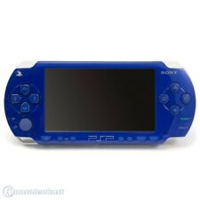 Psp console 1000/1004 blue/metallic blue + power supply and very good