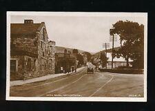 Derbyshire Derbys HATHERSAGE Main Rd Used 1928 RP PPC by Valentine