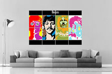 THE BEATLES STYLE HANDY WARHOL Wall ART Poster Great format A0 Wide Print