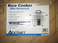 AdCraft 30 Cup 120V Economy Rice Cooker RC-E30