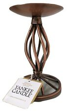 Yankee Candle Tealight/Candlestick/Holder Copper Effect 6 Inch New In Box
