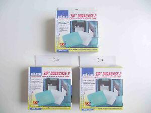 Iomega Zip Disks Storage Cases Job Lot 9 x Zip Duracase 2 High Impact Plastic