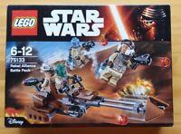 LEGO STAR WARS 75133 REBEL ALLIANCE  BATTLE PACK NUEVO A ESTRENAR Y PRECINTADO