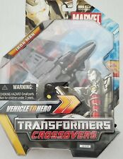 New ListingMarvel Transformers Crossovers - Iron Man - Vehicle to Hero