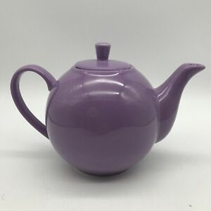 Lovely Maxwell Williams Infusions Mauve Teapot with Strainer Quality Porcelain