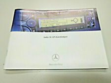 Becker Mercedes Benz Audio 30 APS Käyttöohjeet Bedienungsanleitung instruction