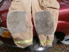 Globe Firefighter Suits: Fire Turnout Pants Bunker Gear Sz. 40/32 Mfg. 05/1998