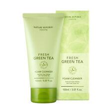 [Nature Republic] Fresh Green Tea Foam Cleanser 150ml