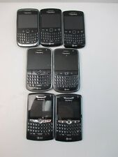 Lot of 7 BlackBerry Cell Phones 9360 9300 9000 8820 AT&T