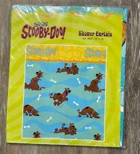 Scooby Doo Jay Franco Vinyl Shower Curtain 70 x 72 New Nip Cartoon Network