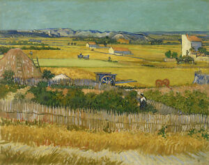 The Harvest by Van Gogh Giclee Canvas Print