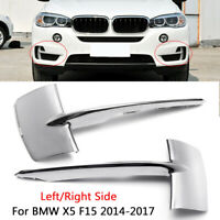 Bumper Grille For 2014 2015 2016 2017 2018 BMW X5 Right Aluminum