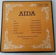 Verdi Aida Abridged PERLEA MILANOV BARBIERI BJOERLING RCA US 2LP LM-6069