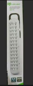 LAMPADA D'EMERGENZA 42/30/21 LED RICARICABILE LUNGA DURATA PORTATILE