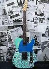 Used Fender Custom Shop MBS Artistry  One of 10 Laguna Blue Free Shipping for sale